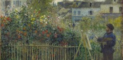 Pierre-Auguste-Renoir,-Claude-Monet-Painting-in-His-Garden-at-Argenteuil,-1873_preview